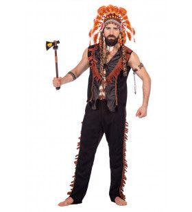Stoere Indiaan White Eagle Man Kostuum