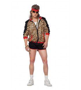 Trainingspak Sportieve Krachtpanter Man Kostuum