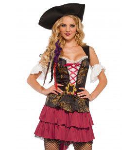 Deborah Dekhand Piraat Vrouw Kostuum