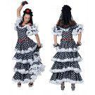 Manolita De Spaanse Flamenco Danseres Vrouw Kostuum