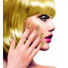 Nagels Pearly Iriserend Glitter Goud